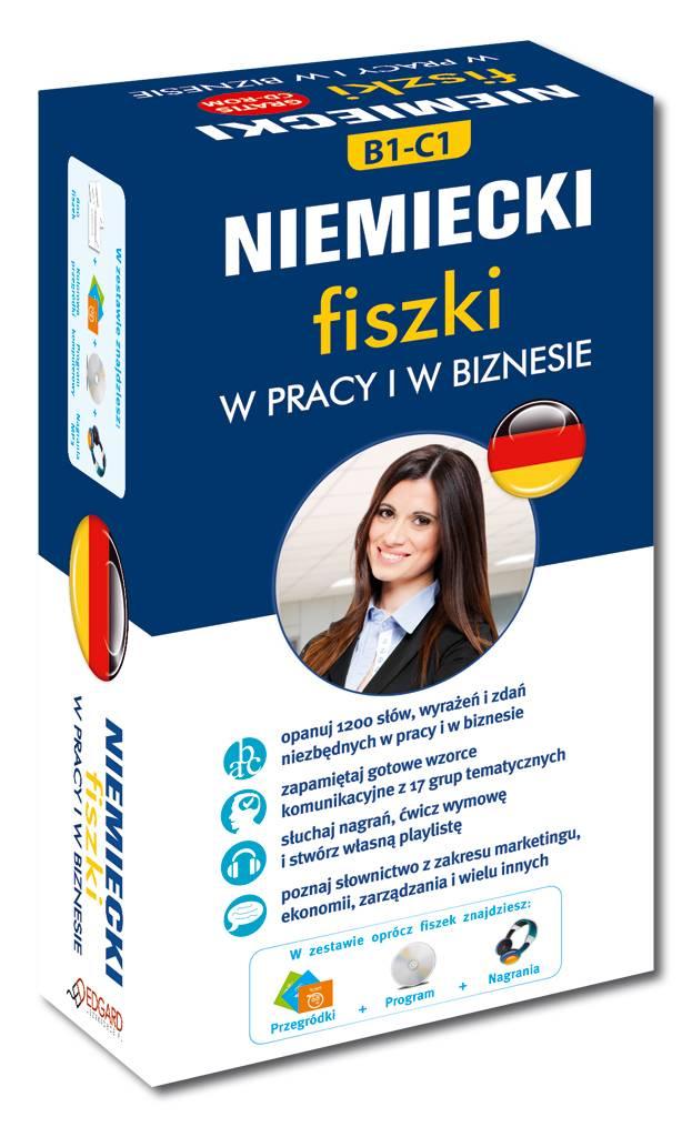 fiszki w pracy i biznesie, język niemiecki Bookland